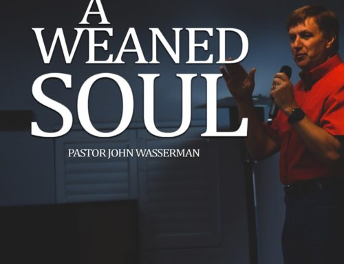 A Weaned Soul